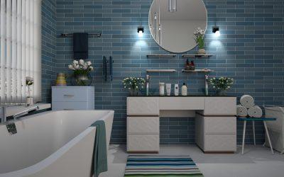 Materiały w wykończeniu łazienek